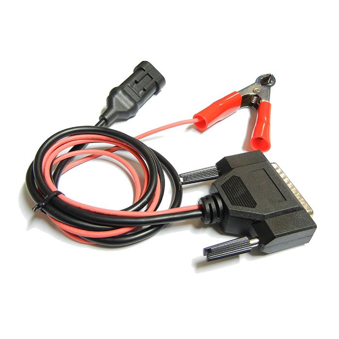 Cablaggio DSUB Vaschetta DB25P Coccodrillo AMP SUPERSEAL 2P Tyco Costampato Alimentazione Batteria