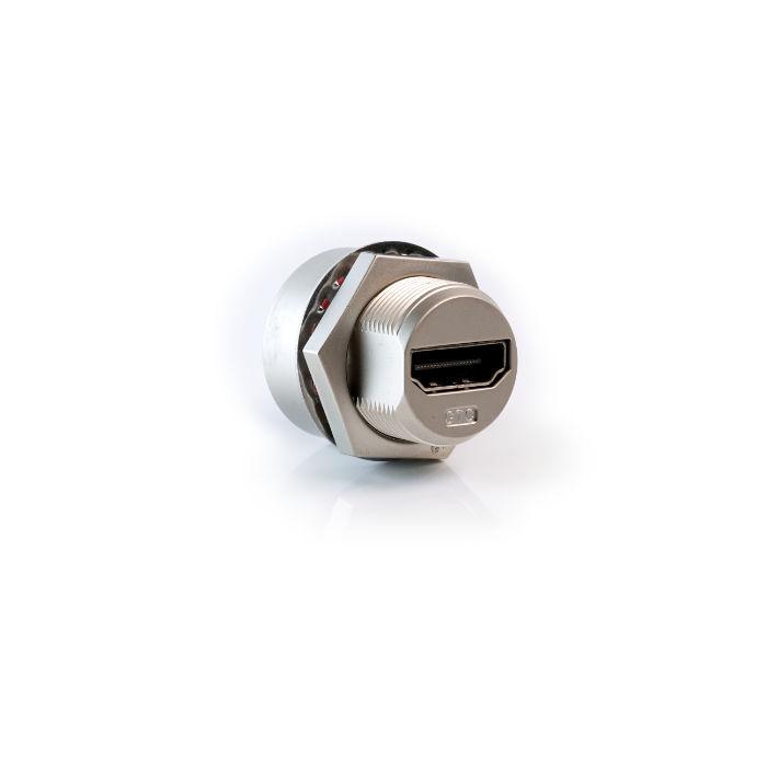 HDMI Connettore da Pannello Metallico WATERPROOF