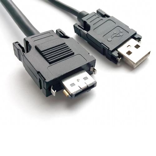Clip-latching-aggancio-USB-SATA-cavo-pannello-costampaggio-hotmelt