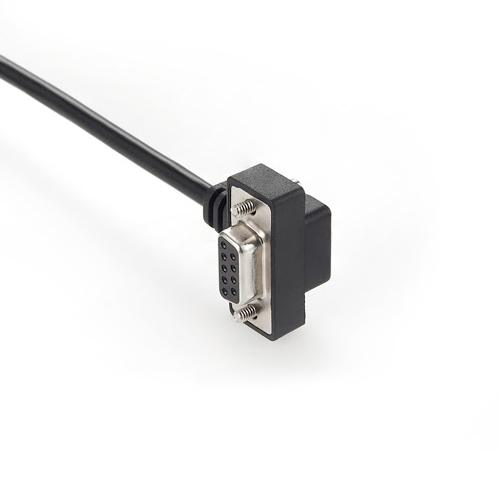 DSUB-9P-vaschetta-connettore-cablaggio-cavo-custom-personalizzato-viti