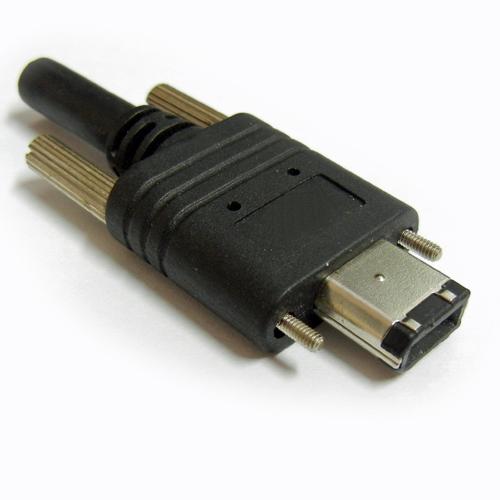 FireWire-IEEE1394-cavo-6-pins con viti-costampaggio