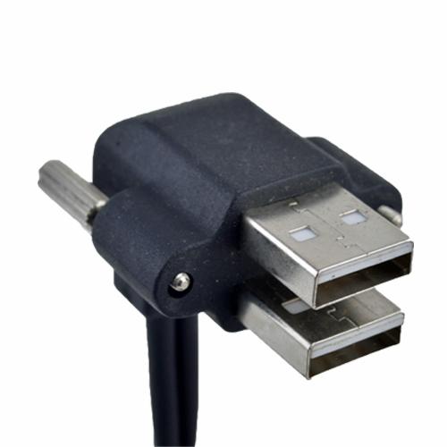 USB Doppio Pannello con viti
